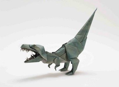 How To Make an Easy Origami Dinosaur - YouTube | 300x408