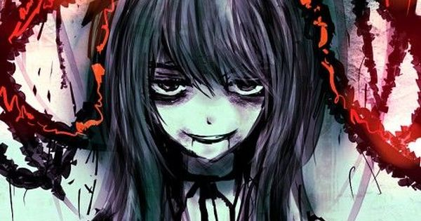 Bloody anime touhou pinterest anime dark anime and - Dark anime girl pics ...