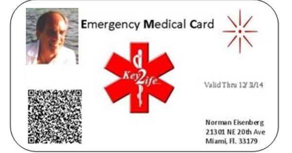 Free Printable Medical Id Cards Medids Com Medical Id Quick Card Medical Emergency Card Medical Free Medical