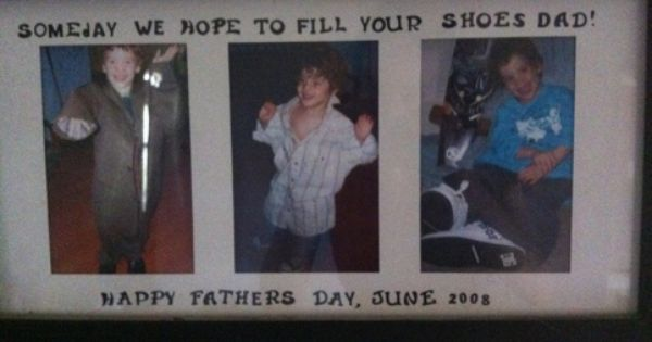 Filling Dad's Shoes