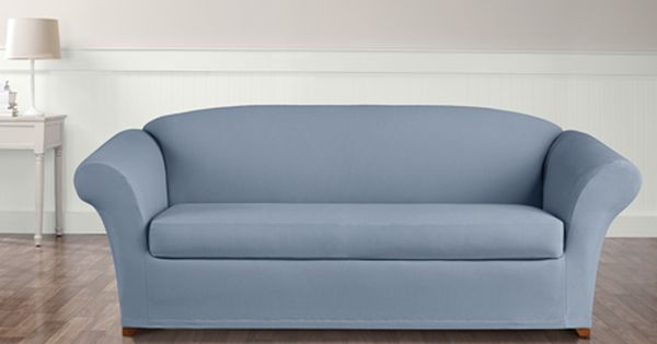 Sure Fit Category Slipcovered Sofa Slipcovers Sofa