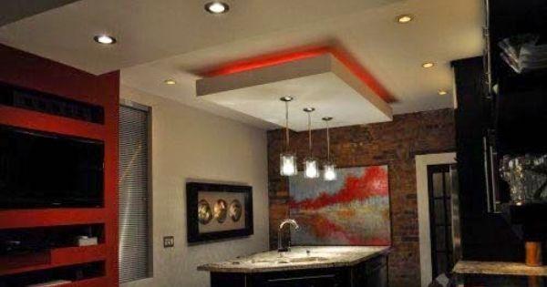 False Ceiling Pop Designs With Led Ceiling Lighting Ideas For Living Room Part 1 Ceiling Design False Ceiling False Ceiling Design
