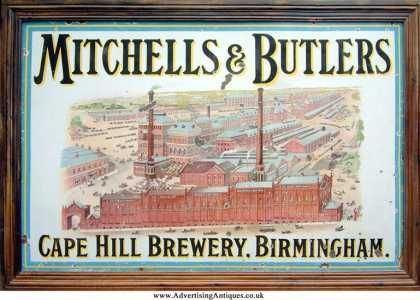Mitchell S Butlers Factory Sign Vintage Ads Vintage Packaging