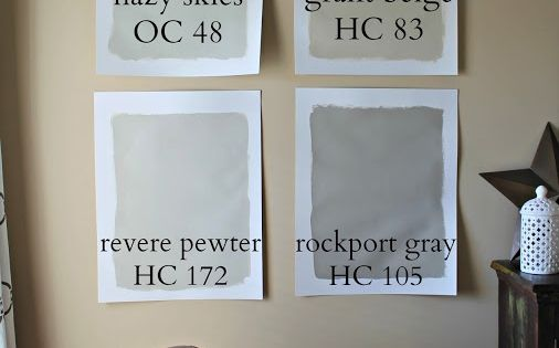 Liking Revere Pewter And Rockport Gray Together Both By