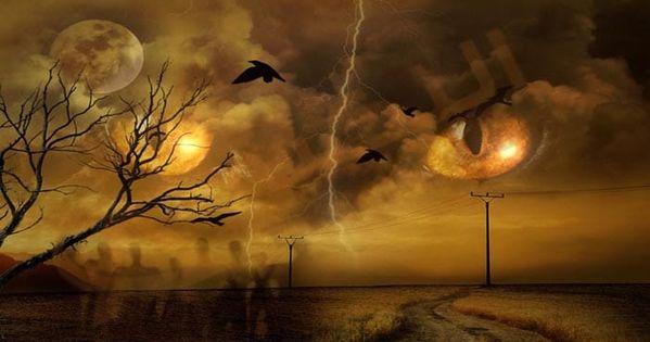 تفسير حلم رؤية الكابوس في المنام معنى الكابوس في الحلم للعزباء والمتزوجة والحامل والرجل دلالات الكابوس وقراءة القرآن Haunted Tree Mysterious Universe Mothman