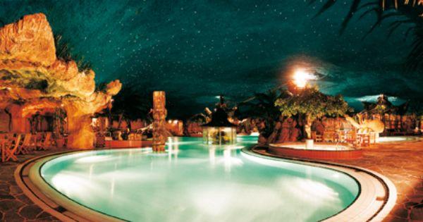 Subtropisch Zwemparadijs Sauna Preston Palace Urlaub Niederlande Holland Preston