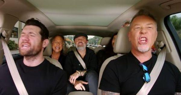 Watch Metallica Sing Rihanna S Diamonds In Extended Carpool Karaoke Trailer Blabbermouth Net