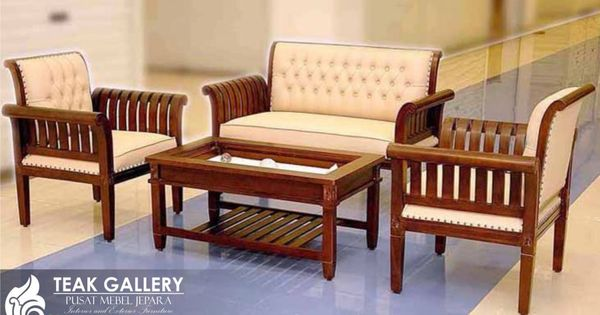 kursi tamu jati minimalis sofa busa ini merupakan model