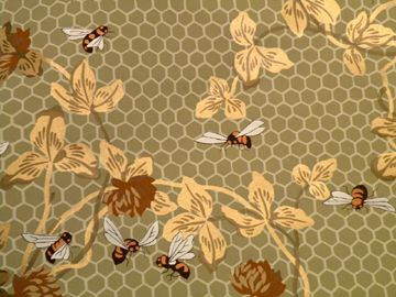 Honeybee Wallpaper Designed By Candace Wheeler And Made