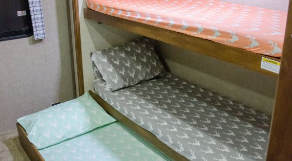 Fitted Camper Bunk Sheets Art Gallery Fabrics By