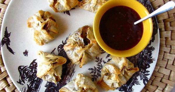 Bacon Cheddar Mushroom Phyllo Bundles - Miss in the Kitchen   how ...