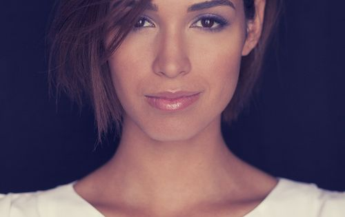 Moriah Peters, BRAVE album Makeup and hair by Rosanna Nykanen. Photography: Eli