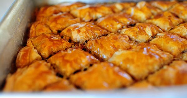 YUM! baklava -- The Pioneer Woman's recipe