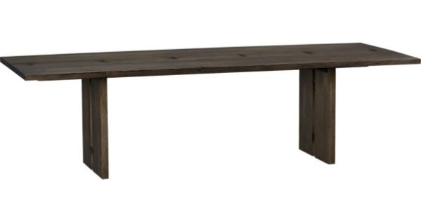 Monarch 108 dining table crate and barrel for dining for 108 inch dining room table
