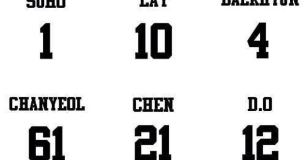 EXO 'Wolf' promotion numbers ~ Chen's (my ultimate bias ... | 600 x 315 jpeg 13kB