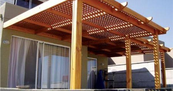 1268318108 79975316 7 decks terrazas pergolas y cobertizos - Pergolas de madera para terrazas ...