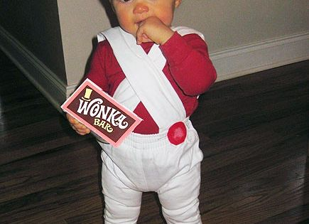 #oompa loompa baby costume halloween ideas