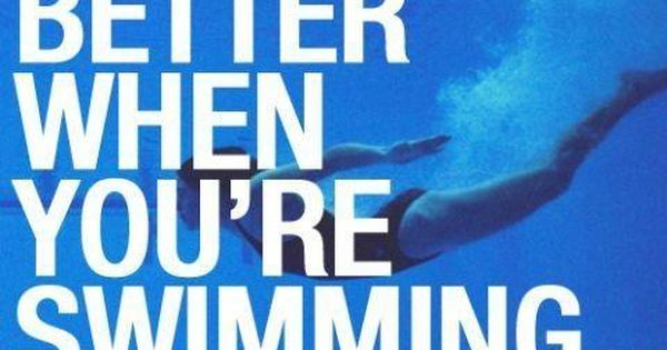 Competitive Swimming Quotes Tumblr