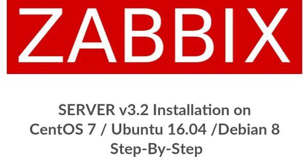 How To Install Zabbix Server 4 X On Centos 7 Rhel 7 With Images