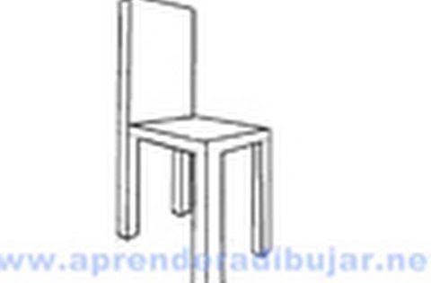Como dibujar una silla en perspectiva dibujos de sillas for Silla para dibujar
