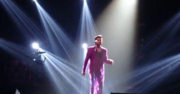 Wwfm Partial Adam Lambert Jan25 2016 Melbourne Australia With