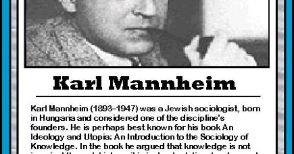 karl mannheim essays on sociology and social psychology De karl mannheim josé m gonzález de p kecskemeti en el libro k mannheim, essays on sociology and social essays on sociology and social psychology, london.