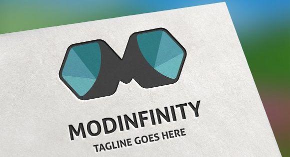 Modinfinity (Letter M) Logo – 100% Vector