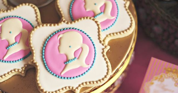 Barbie Princess Charm School Cookies