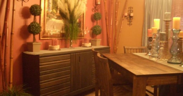 Accent Decorating Dinning Room Buffet Table Ideas Rustic