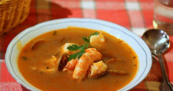 Lazy blog sopa de pescado y marisco de navidad receta - Lazy blog cocina ...