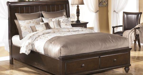 3 Pc Ashley Camdyn Queen Storage Sleigh Bed Furniture Pinterest Storage