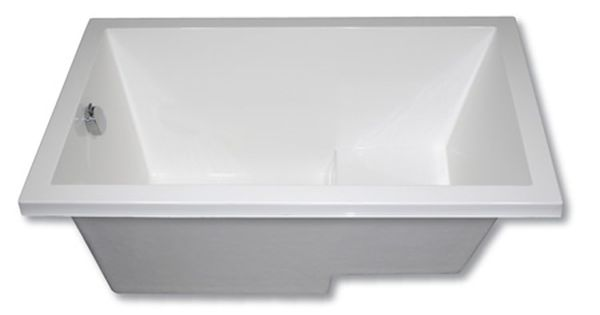 The Cabuchon Calyx Deep Soaking Bath Is The Minimalist