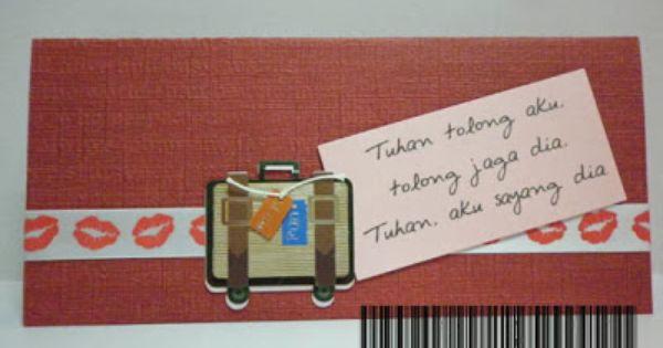 Saya Buat Sendiri A Farewell Card Untuk Cinta Hati Mr X Farewell Cards Paper Craft Projects Greeting Cards Handmade