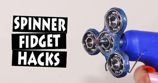 DIY Fidget Toy | Hand Spinner Model 6&7 | Hardware Store Items Easy To Make  For