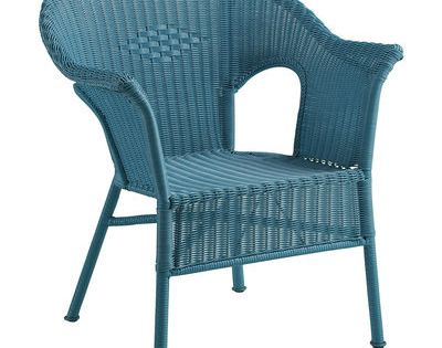 Casbah chair ocean blue pier one 28 w x x 33 h iron plastic requires a - Pier one lounge chairs ...