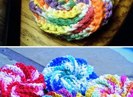 Crochet For Children: Spiral Scrubbie - Free Pattern ...