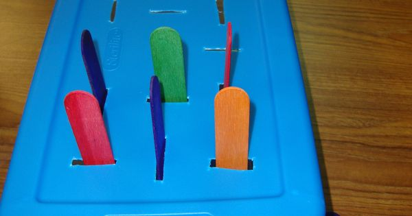 how to cut popsicle sticks vertically