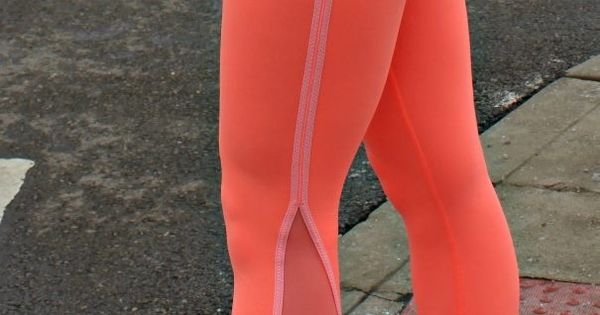neon running leggings, because blindingly bright workout gear is the BEST