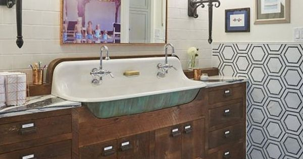 Ideas To Steal From A Gorgeous Vintage Style Bathroom Apartment Therapy