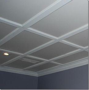 Unique Diy Ceiling Makeover Ideas Basement Lighting Basement Lighting Ideas Low Ceilings Dropped Ceiling
