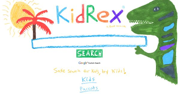 Kidrex org family friendly search engine for kids it is powered by