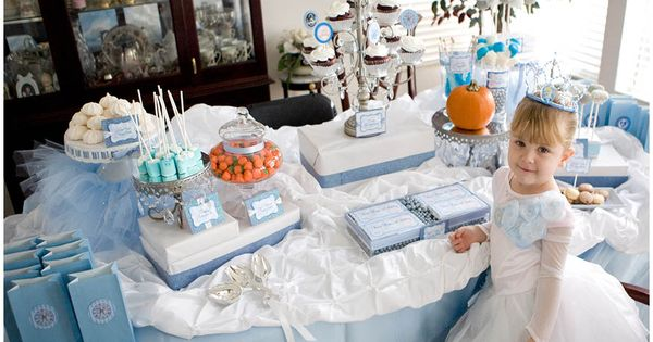 Cinderella Party. This blog has many other great party themes, too.