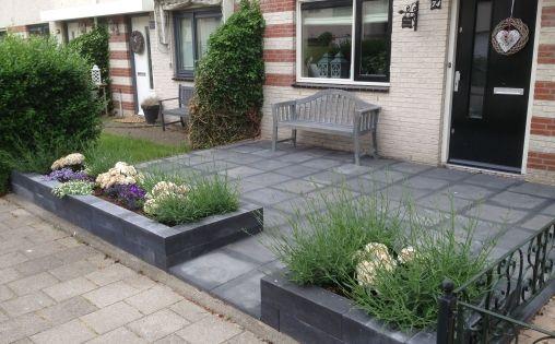 Voortuin voortuin pinterest zoeken google en tuin - Moderne tuin ingang ...