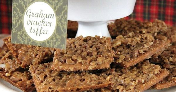 Homemade Sweet Treats – graham cracker toffee