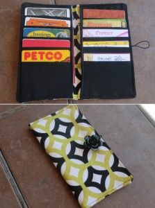 Card Wallet With Pockets Best Fabric Store Blog Diy Wallet Fabric Wallet Card Wallet