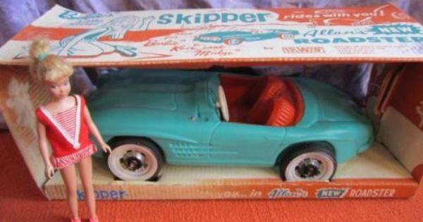VINTAGE RARE 1964 BARBIE'S SISTER SKIPPER IN ALLAN'S