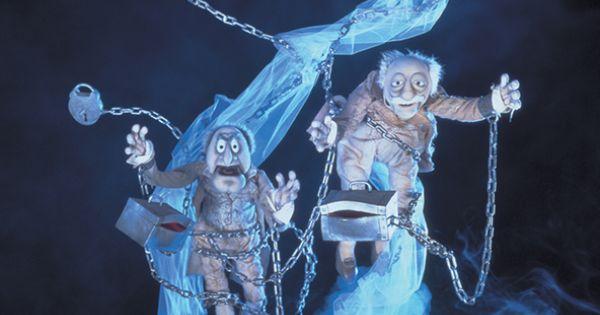 Statler and Waldorf - A Muppet Christmas Carol   Christmas Time   Pinterest   Statler and ...