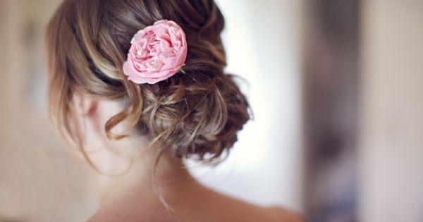 Fresh flowers in hair?