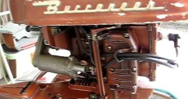 1956 Buccaneer 5 Hp Outboard 1 Outboard Vintage Boats Boat