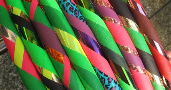 Hula Hoop Reifen Farbenpracht Faltbar Hula Hoop Pattern Handmade
